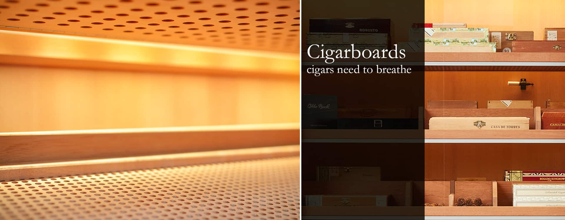 GERBER Humidors Cigarboards