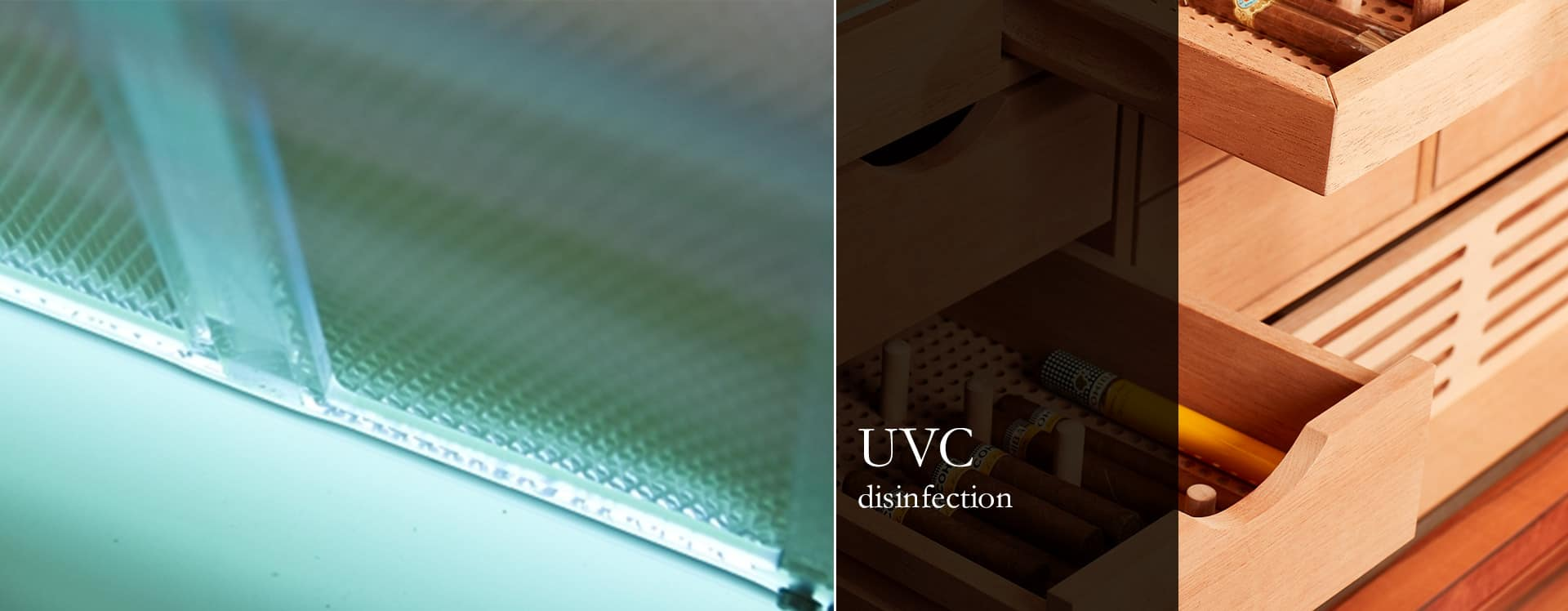 Gerber Humidors UVC-Disinfection