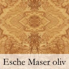 Esche Maser oliv