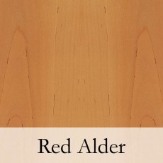 Red Alder has a brown or slightly reddish tint.