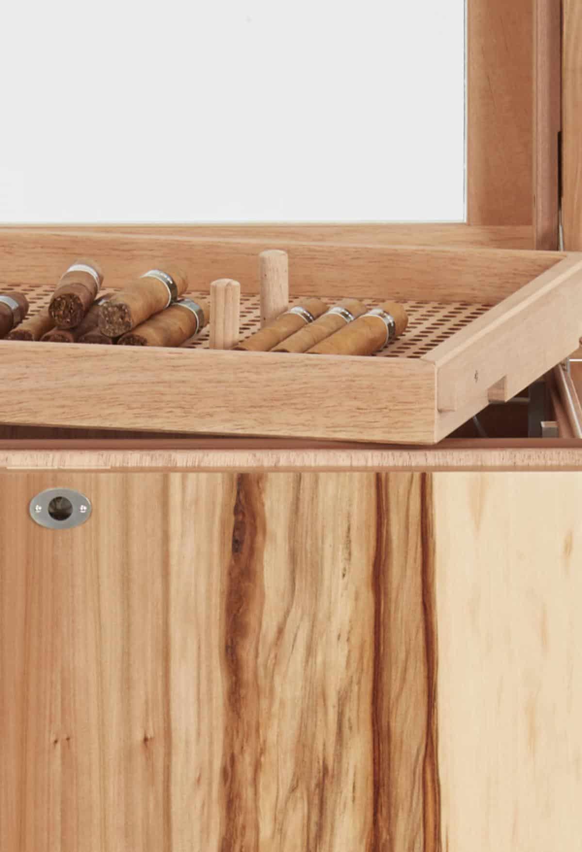 GERBER Humidor Cube Cigarboards