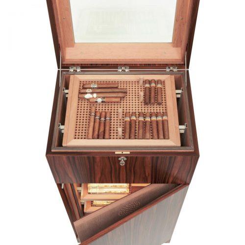 Gerber Humidore Beispiel Beleuchtung Deckel + Innenraum + Cigarboards