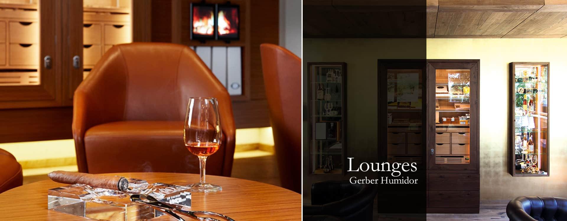 Cigar Lounge Gerber Humidor