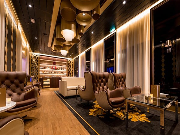 Humidor Lounge Mein Schiff