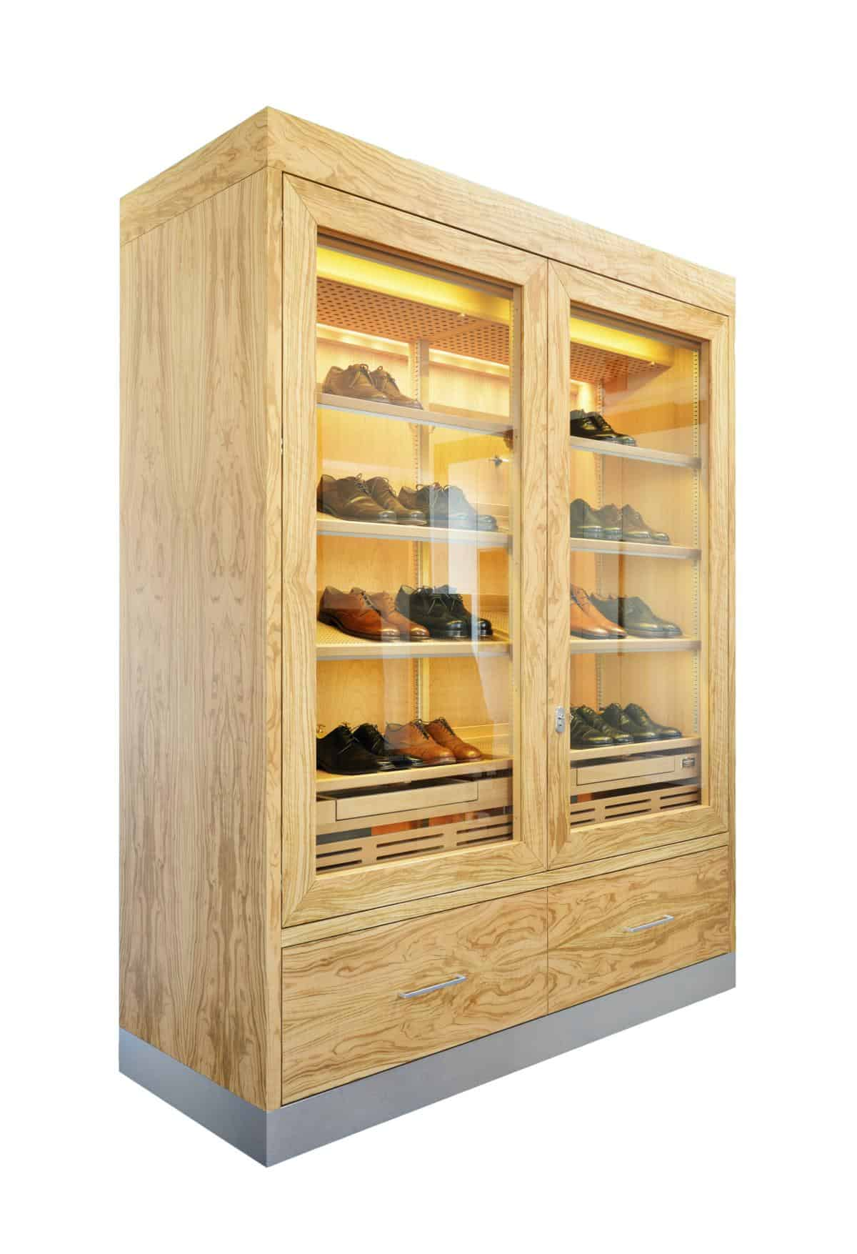 Cabinet Humidor Number One XXL Olive » GERBER Humidors