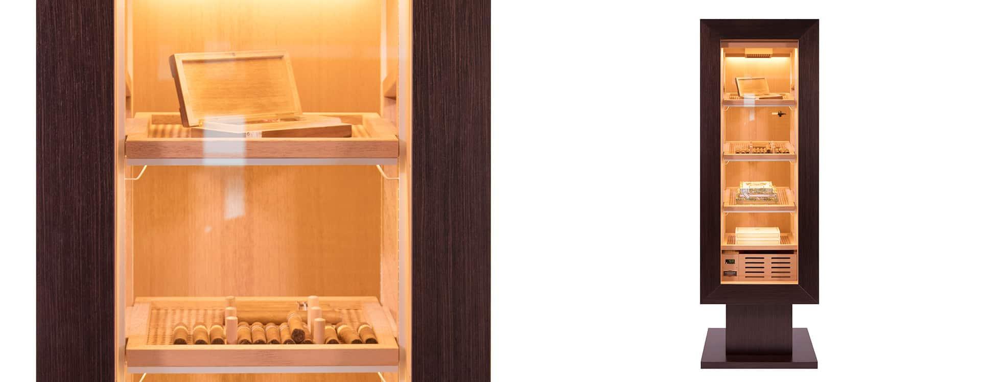 new humidor model CigarArt GERBER Humidor