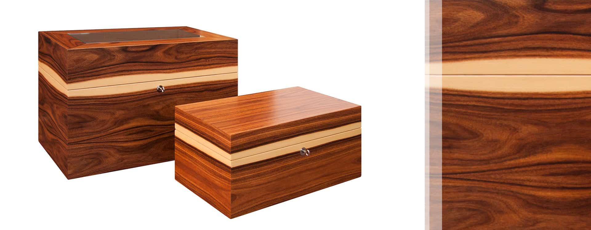 Father and son Cube GERBER Humidors
