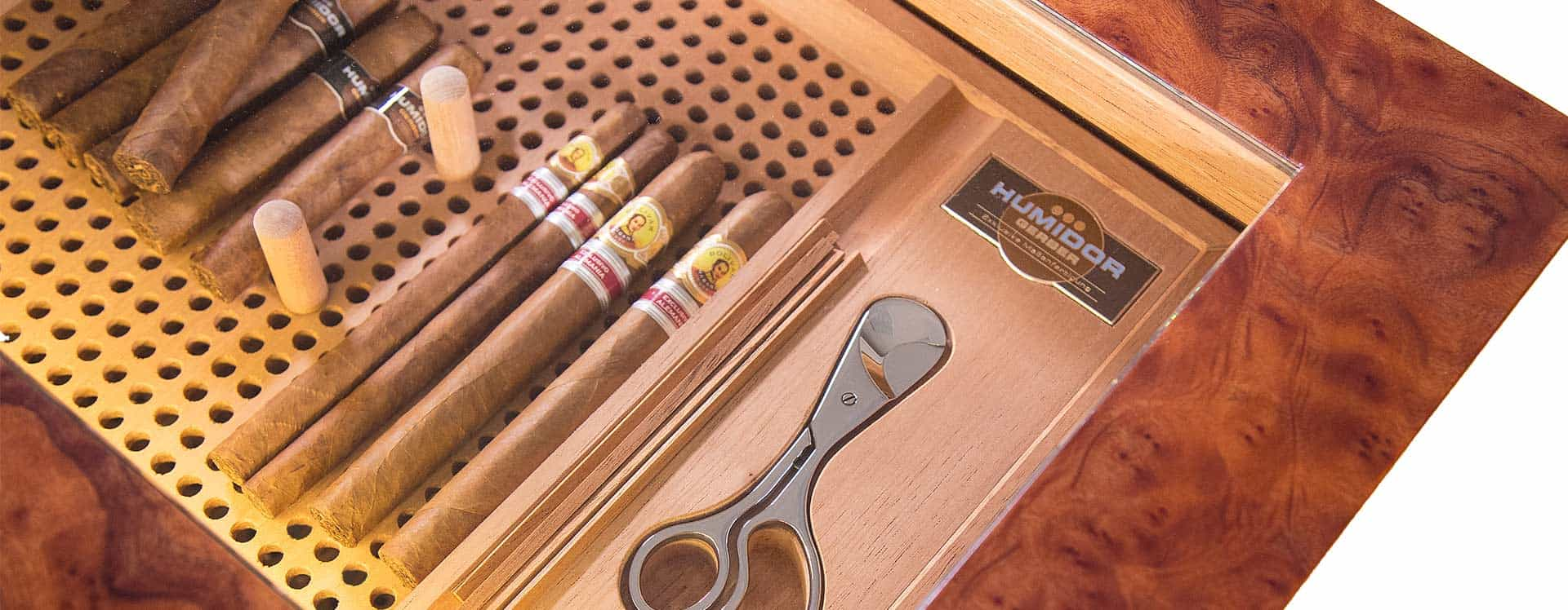 News Serviceboard as a new feature GERBER Humidors
