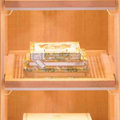 Gerber Humidor CigarArt Shelves for Cigars